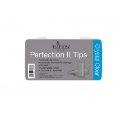 Ez Flow  Perfection II Tips Crystal Clear (100Uds)