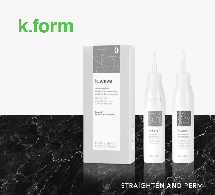 Lakme k.form. Straighten and perm